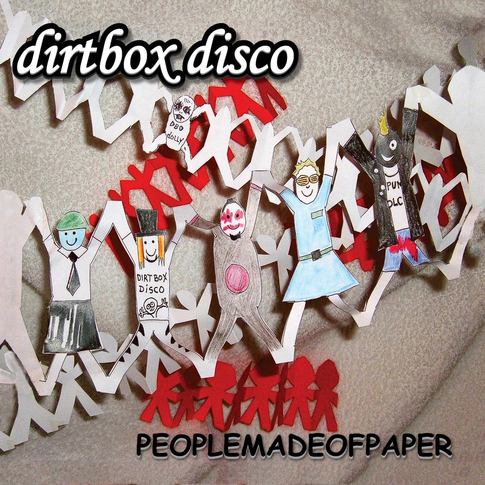 Image of PEOPLEMADEOFPAPER - CD