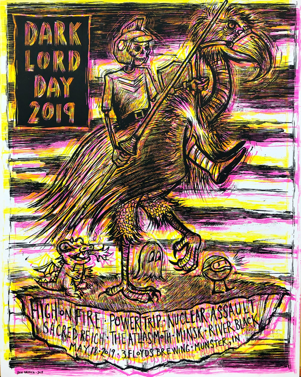 2019 Dark Lord Day poster