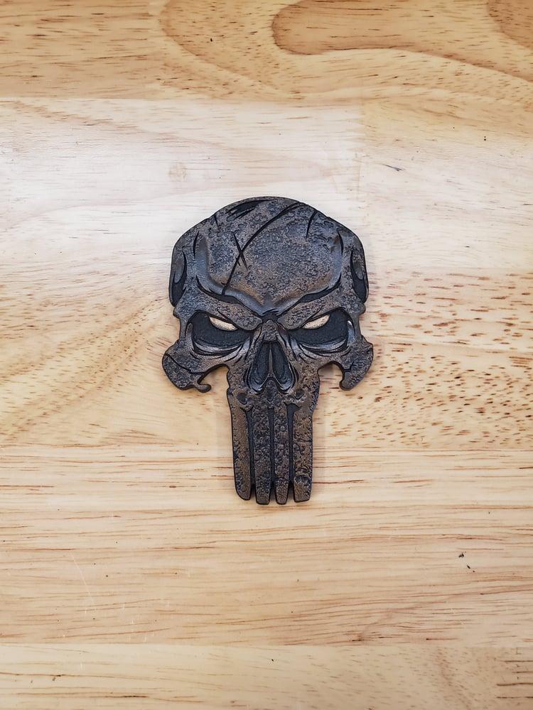 Image of Leather Punisher Skinz DARK