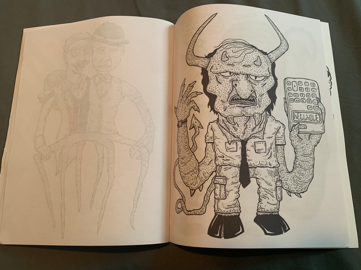 Image of Coloring Book Vol. 01
