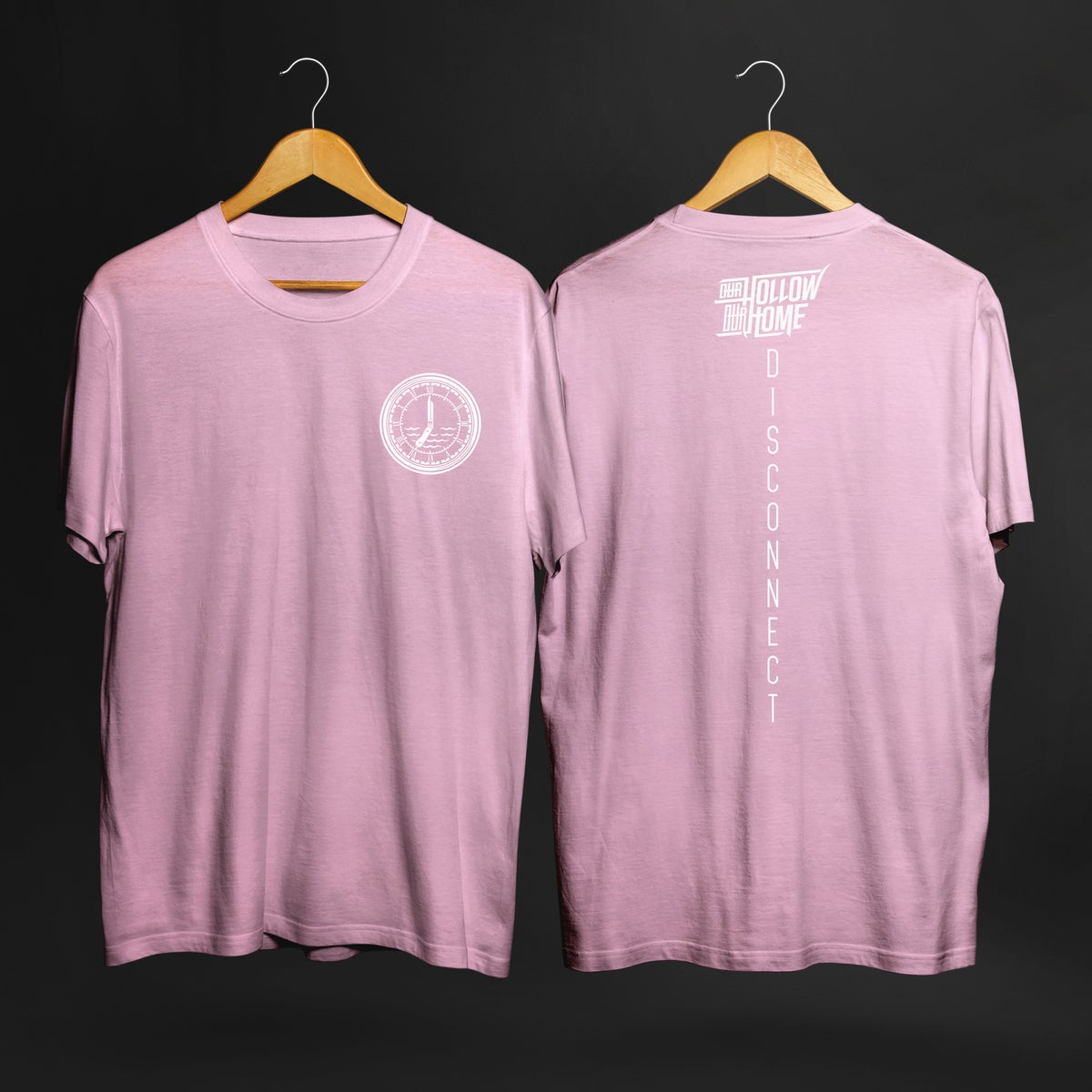 Image of DISCONNECT // PINK TEE