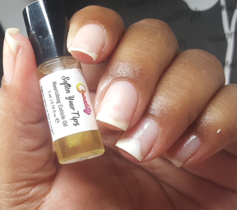 Image of Soften Your Tips - Nourishing Cuticle Oil 3mL