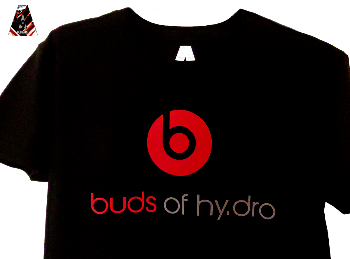 "Image of ΔELTA9INE ""BUDS OF HY.DRO"" T-SHIRT"
