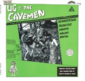 Image of LP + DVD. Ug & The Cavemen : S/T.  Ltd Edition Gatefold, coloured vinyl, bonus tracks + DVD