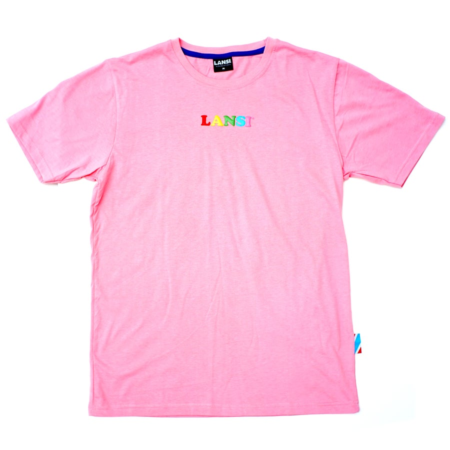 Image of LANSI Alias T-shirt (Bubblegum)