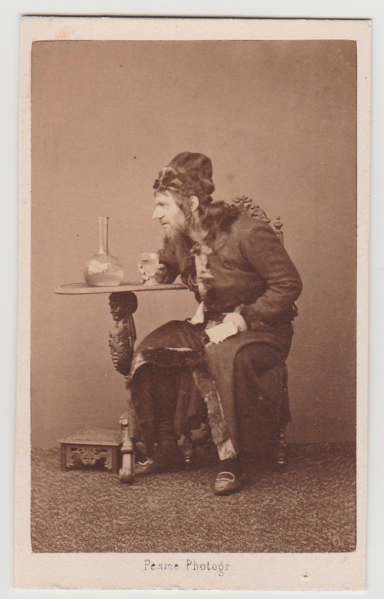 Image of Pesme: Dumaine, actor of Paris theater, ca. 1865