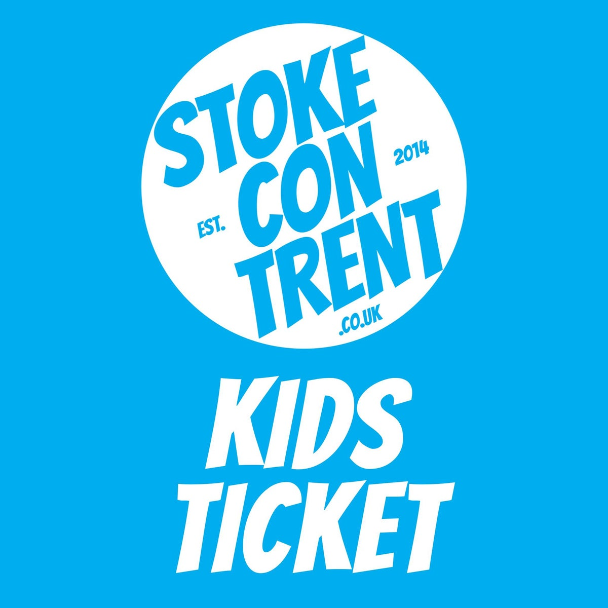 Image of Kids Ticket for Stoke CON Trent 11