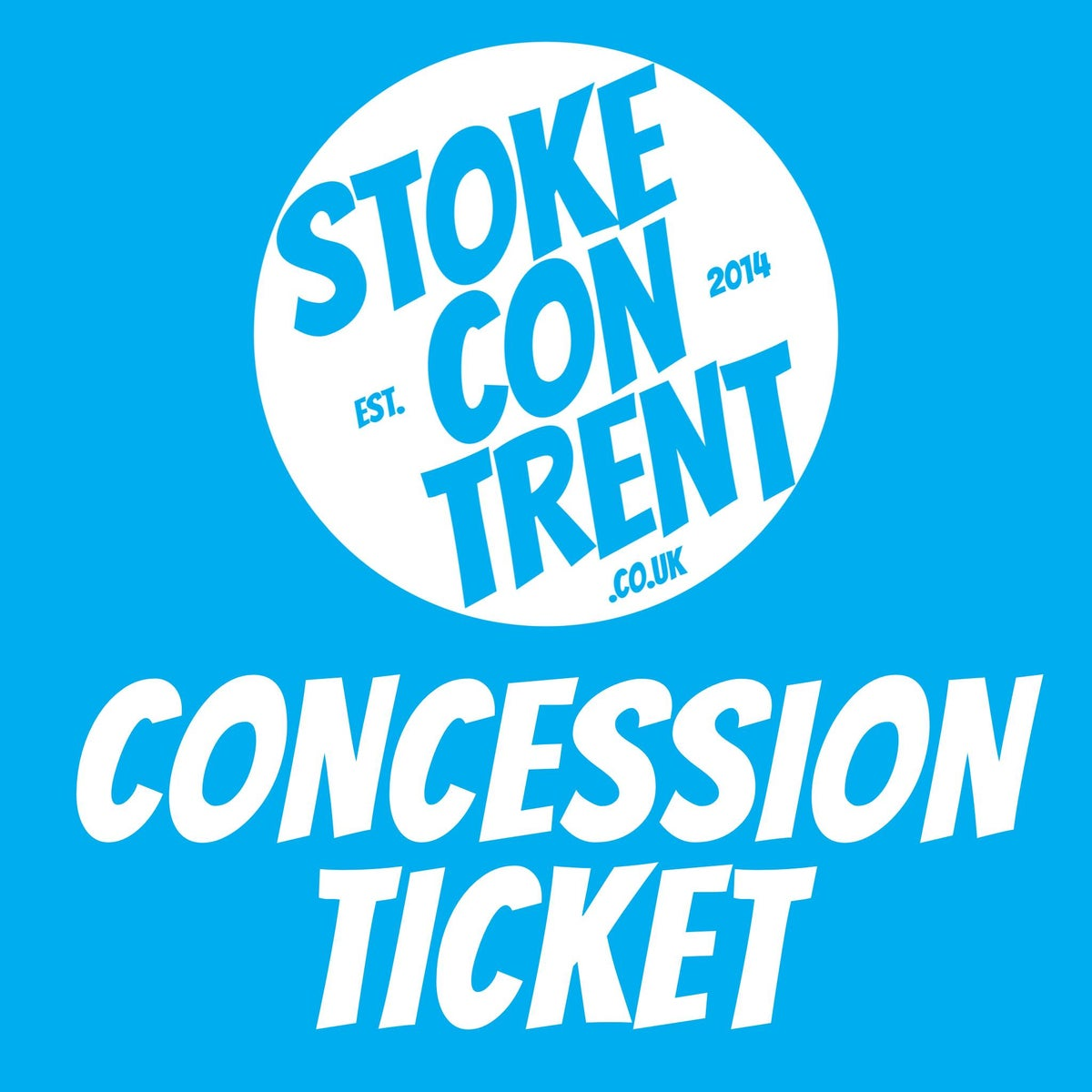Image of Concession Ticket for Stoke CON Trent 11