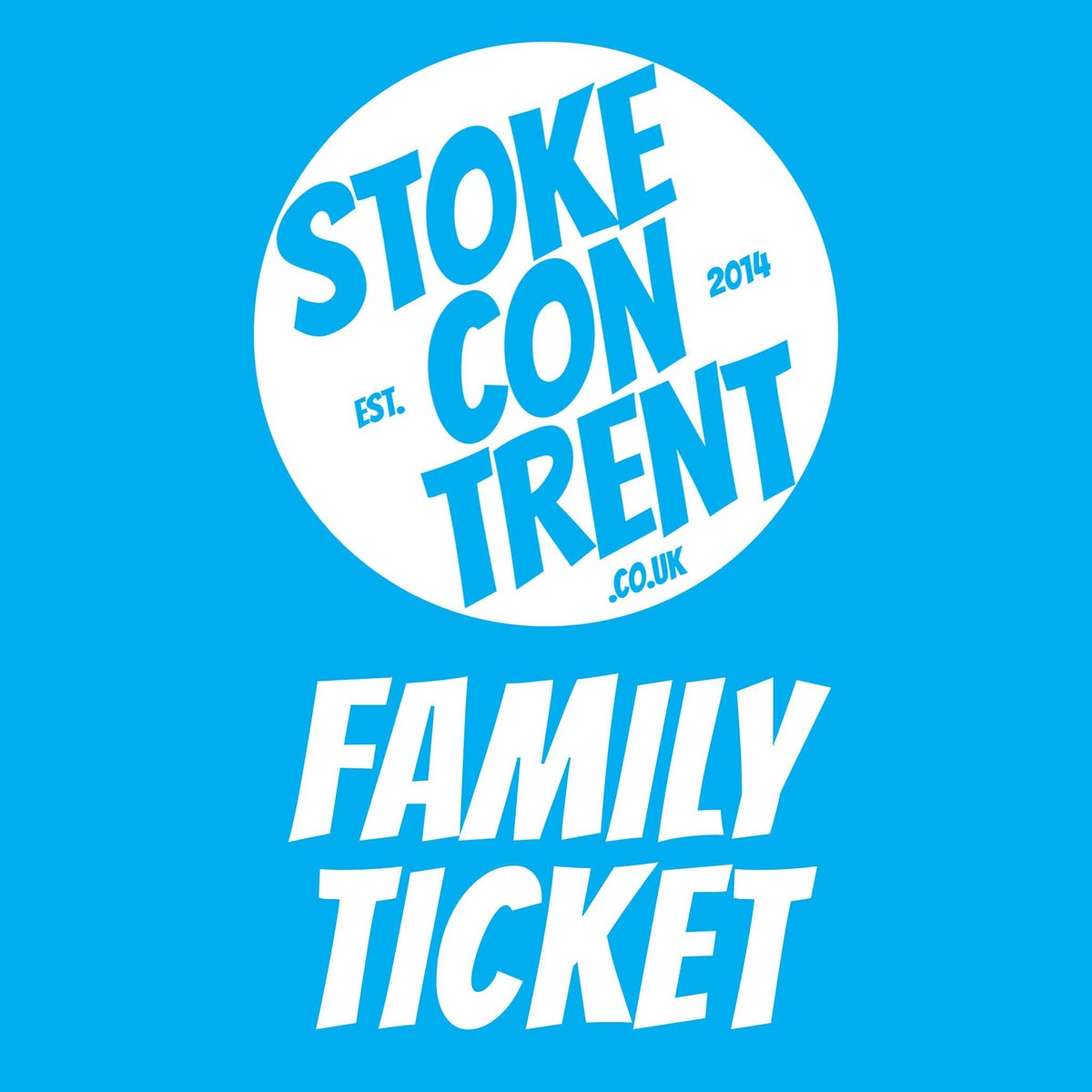 Image of Family Ticket for Stoke CON Trent 11