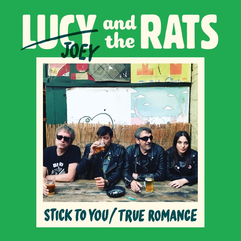 """Image of Lucy and the Rat """"Stick To You / True Romance"""" EP - OUT NOW!"""