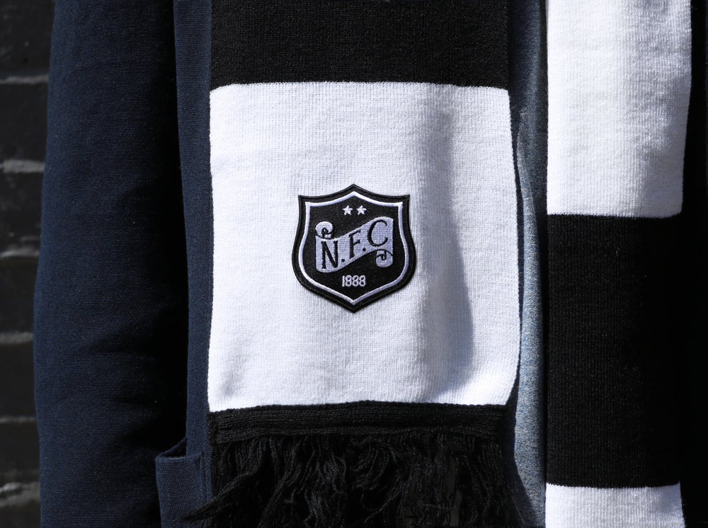 Image of Anniversary football scarf