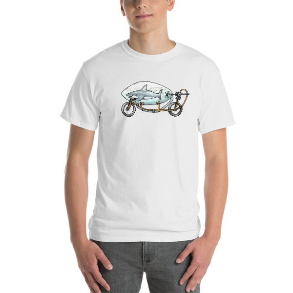 Image of Shark Bike T Shirt