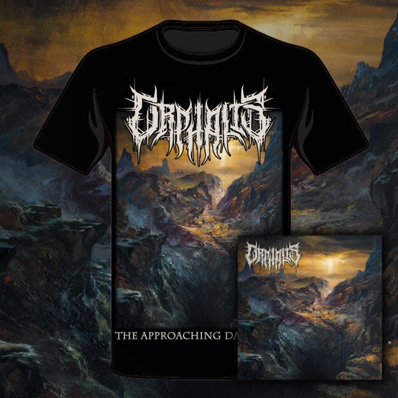 Image of The Approaching Darkness - Shirt + CD Bundle