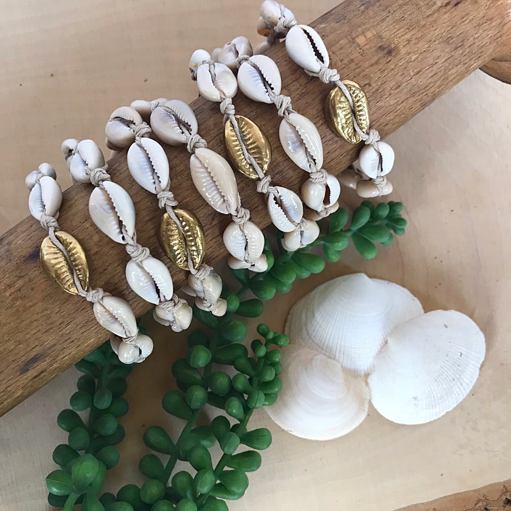 Image of Summer Cowrie Bracelets