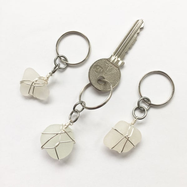 Image of Cornish Sea Glass Keyring