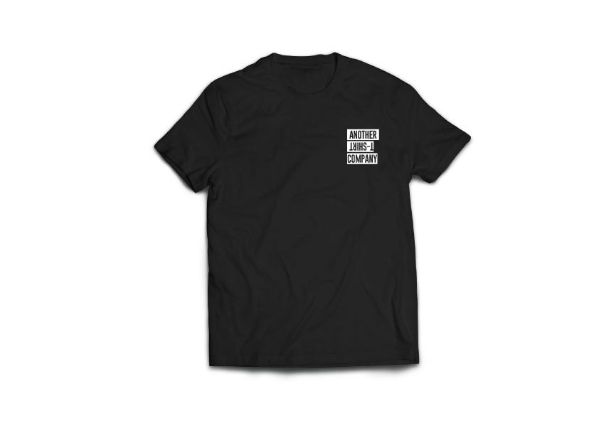Image of Another T-Shirt Company Black ( Small Crest )