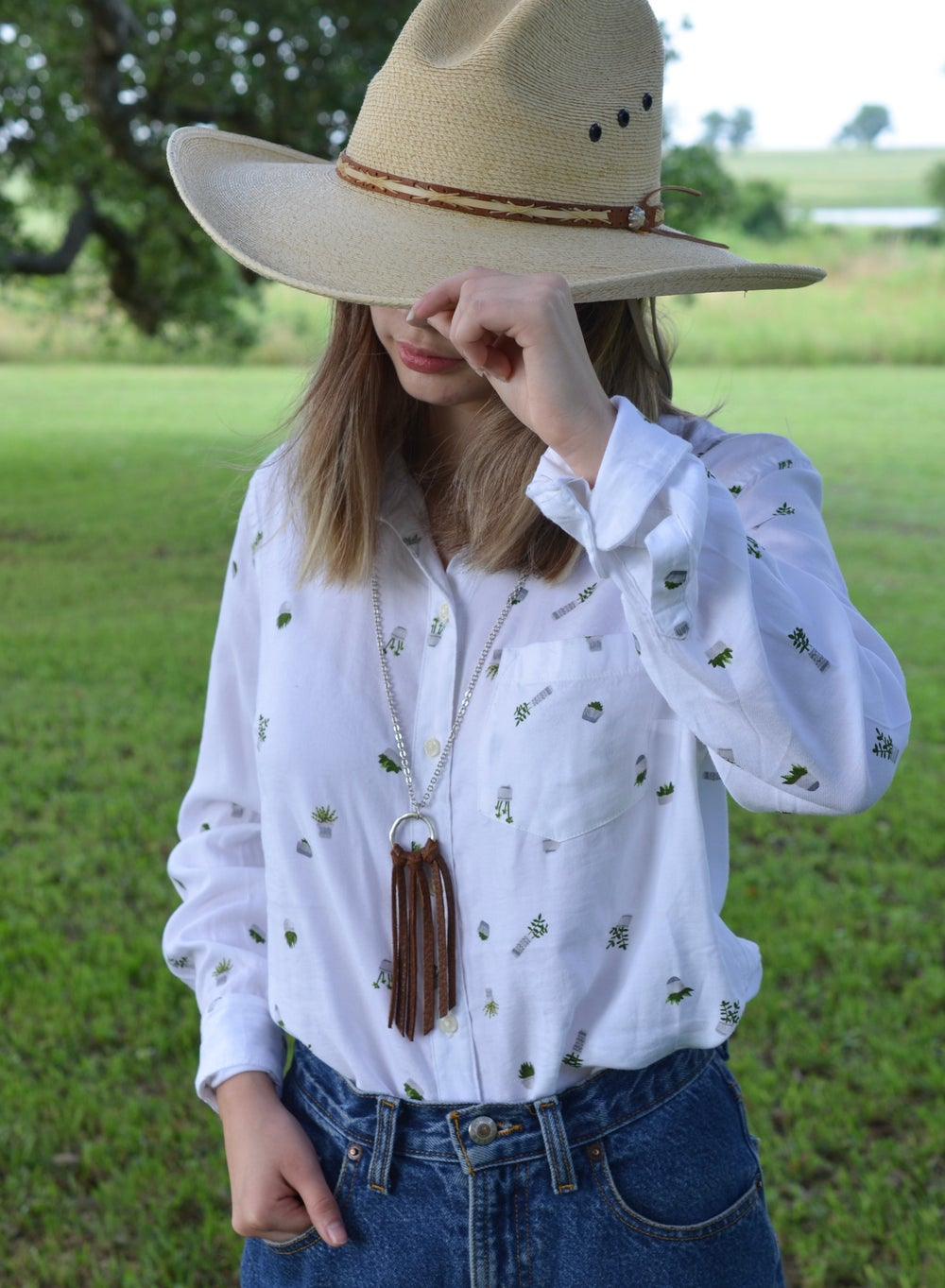 Image of Contemporary Cowgirl Necklace
