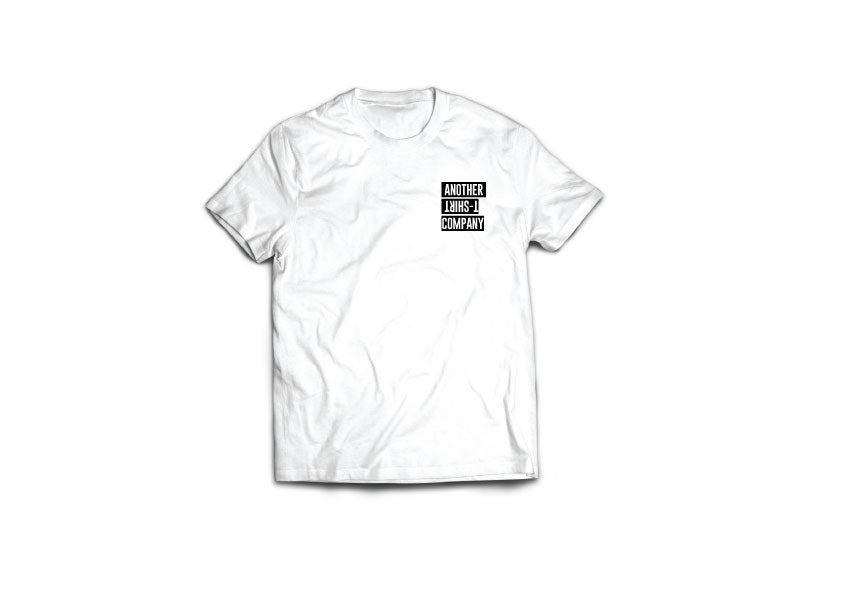 Image of Another T-Shirt Company White ( Small Crest )