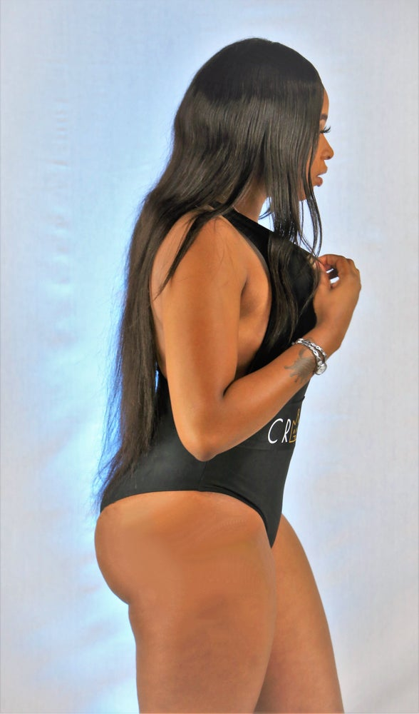 Image of Black One-Piece Swimsuit