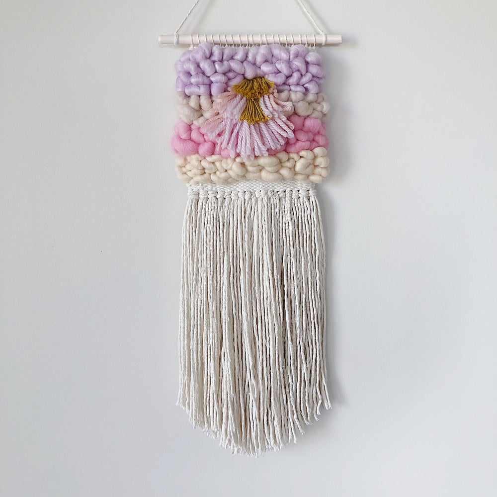 Image of Woven Wall Hanging - Fairy Floss