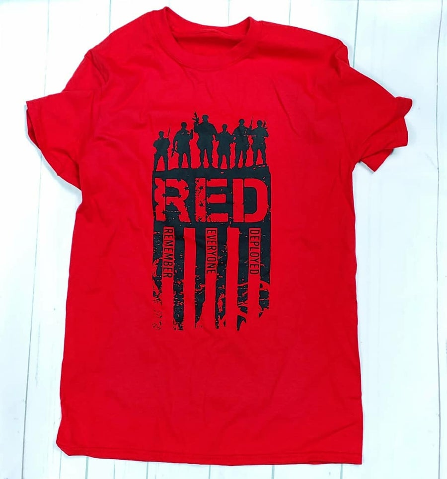 Image of R•E•D Logo Shirt 2.0