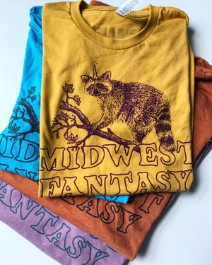 Image of Midwest Fantasy Logo Tee