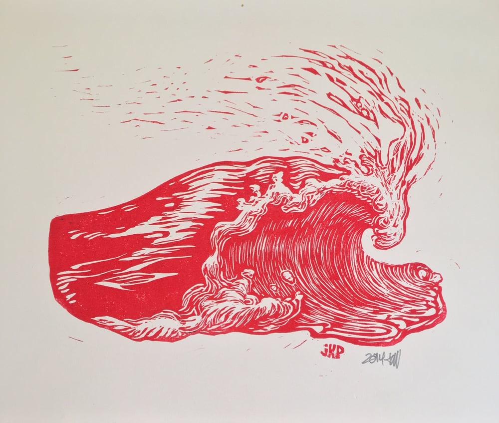 Image of Wave Print