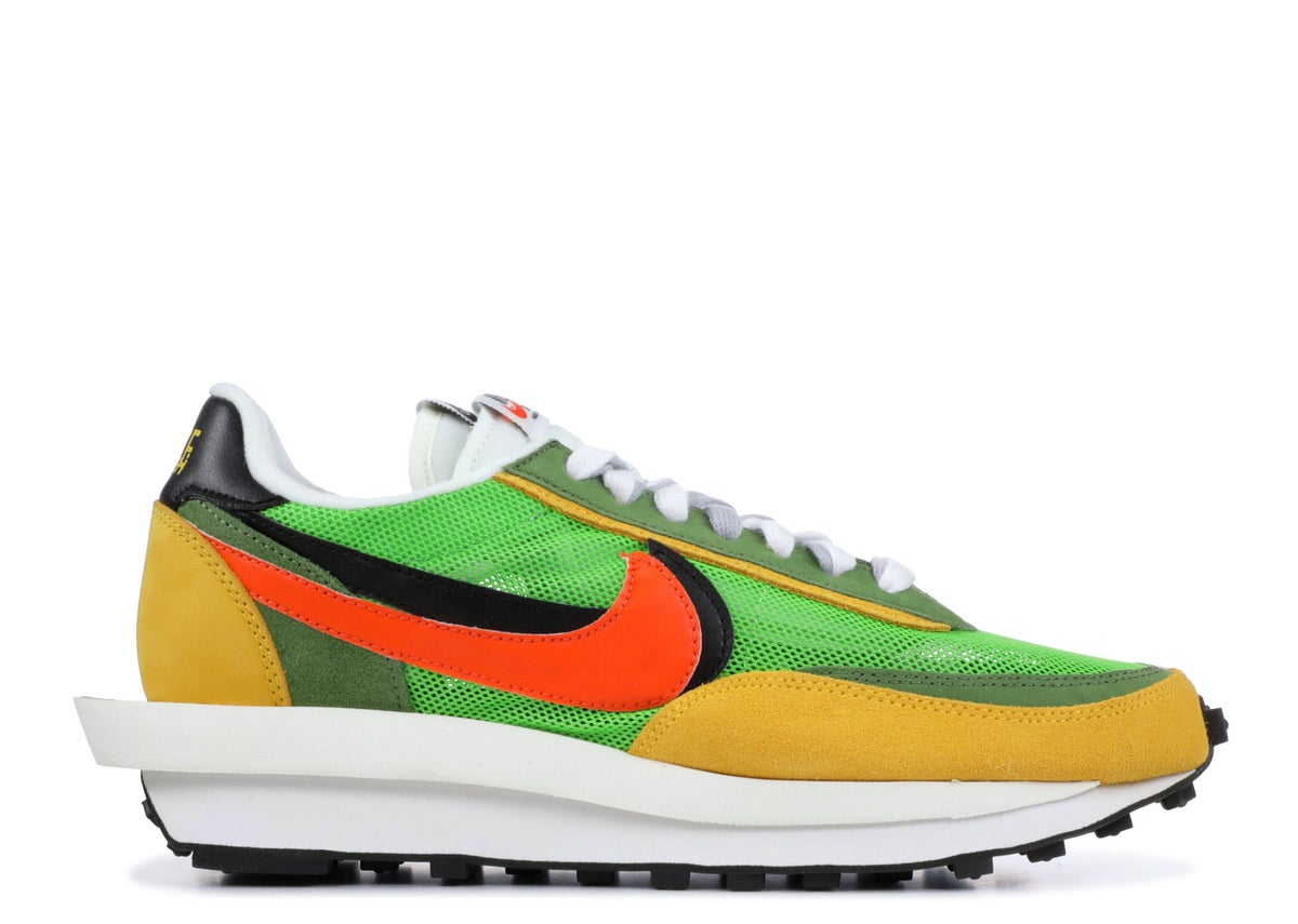 Image of NIKE LDVWAFFLE/SACAI Green Multi