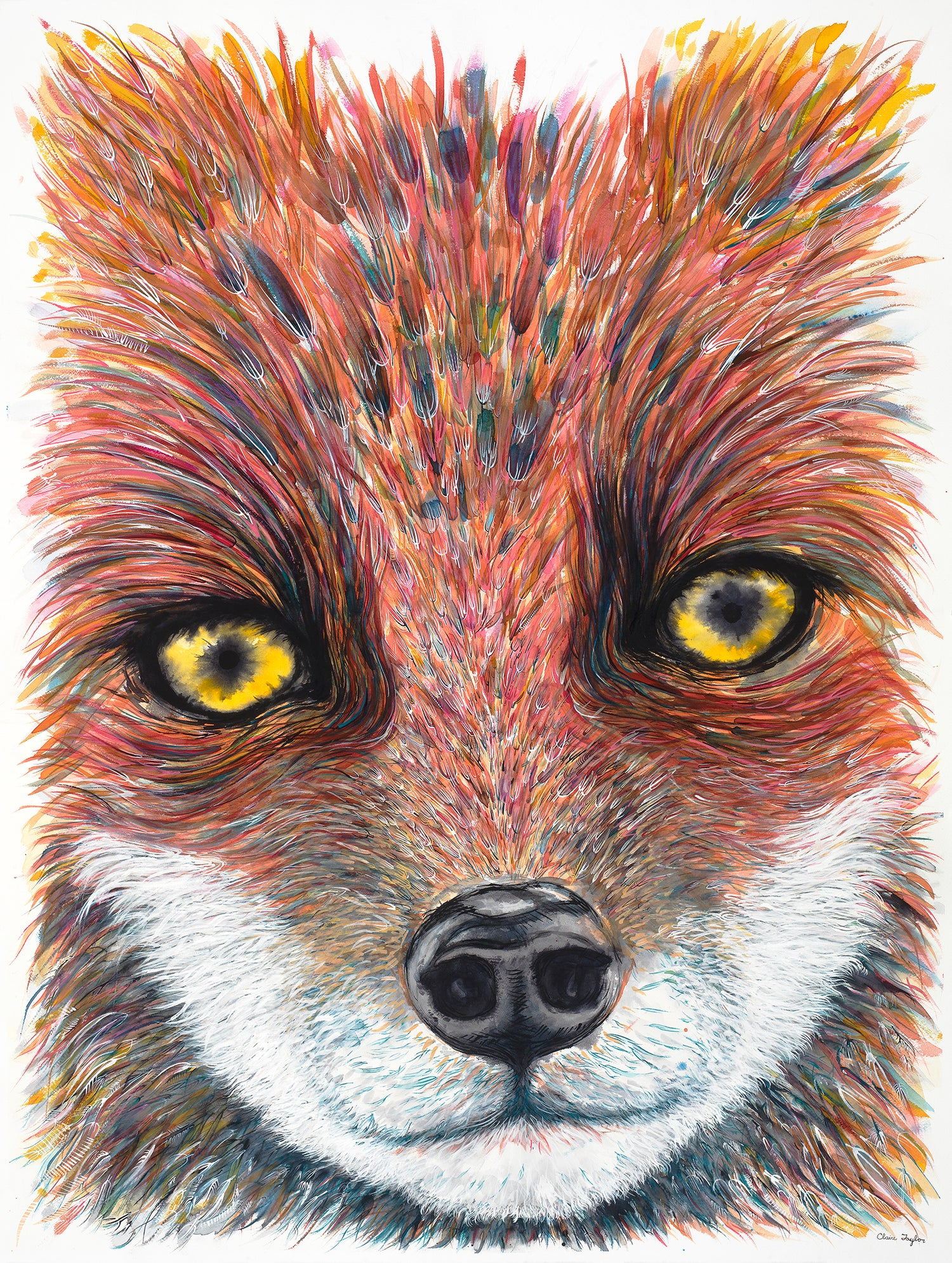 "Image of ""Understood by the Mama Fox"" giclee print"