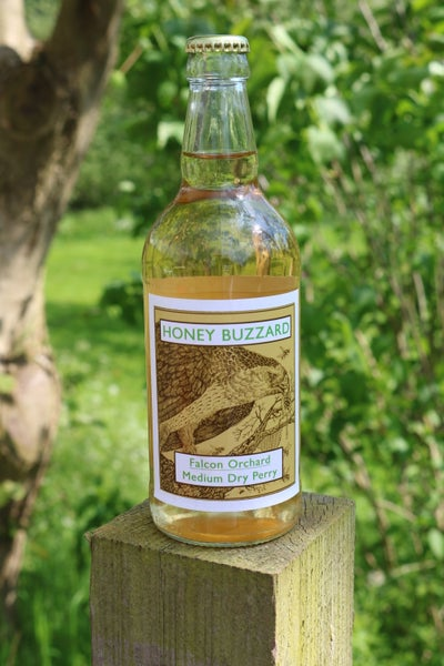 Image of Honey Buzzard Falcon Orchard (Single Variety) Medium Dry Natural Perry 6 bottles