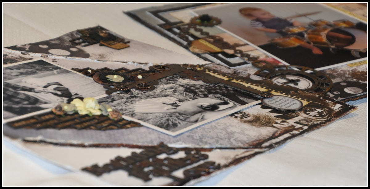 Image of Nothing Beats a Fathers Love  (2 Layouts) -  Friday 10am - 12pm  6 places