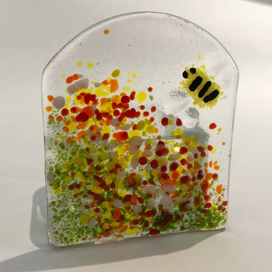 Image of Bumble bee tea light holder