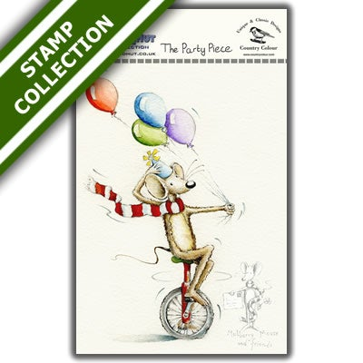 Mulberry Mouse and Friends - The Party Piece Stamp Set