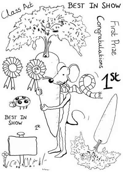 Mulberry Mouse and Friends - Best In Show Stamp Set