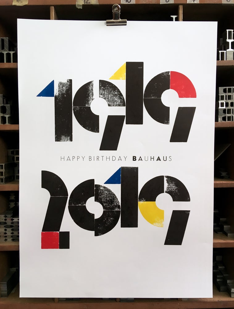 Image of HAPPY BIRTHDAY BAUHAUS