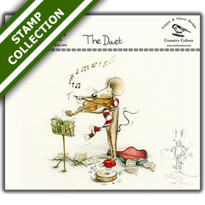 Image of Mulberry Mouse and Friends - The Duet Stamp Set