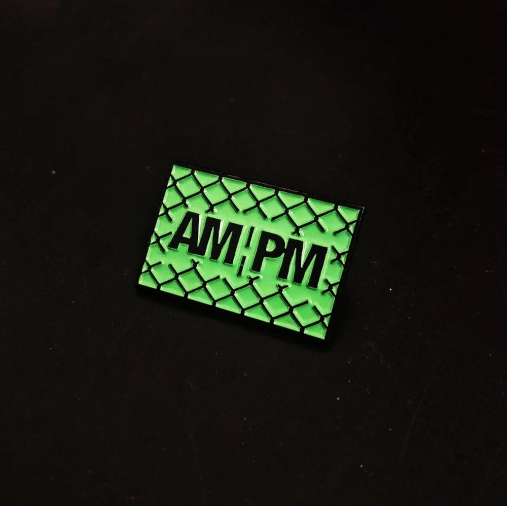 Image of AM:PM. ENAMEL:PIN.