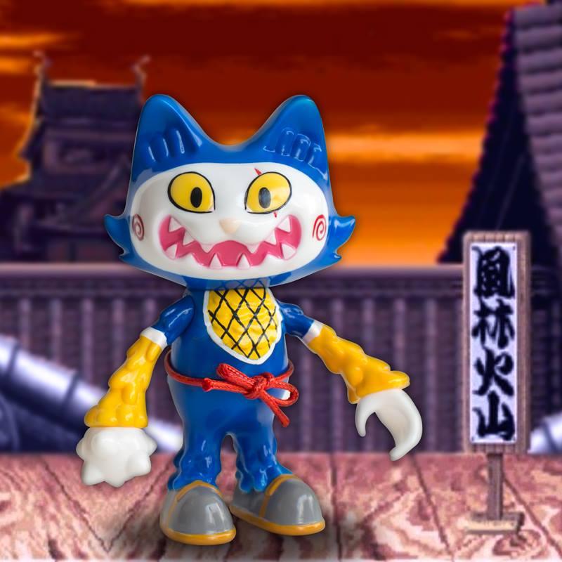 Image of Stickup monsters - Ninja Wananeko