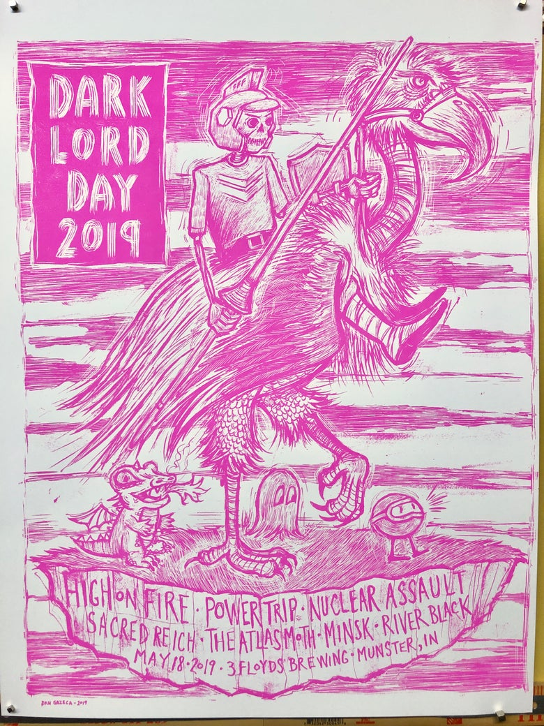 Image of Dark Lord Day 2019 Pink variant