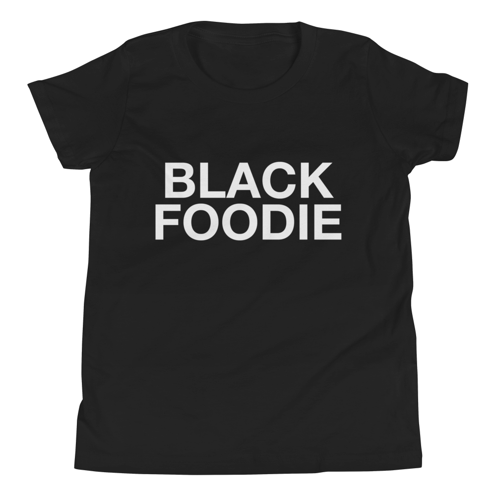 Image of Black Foodie Kids T-shirt