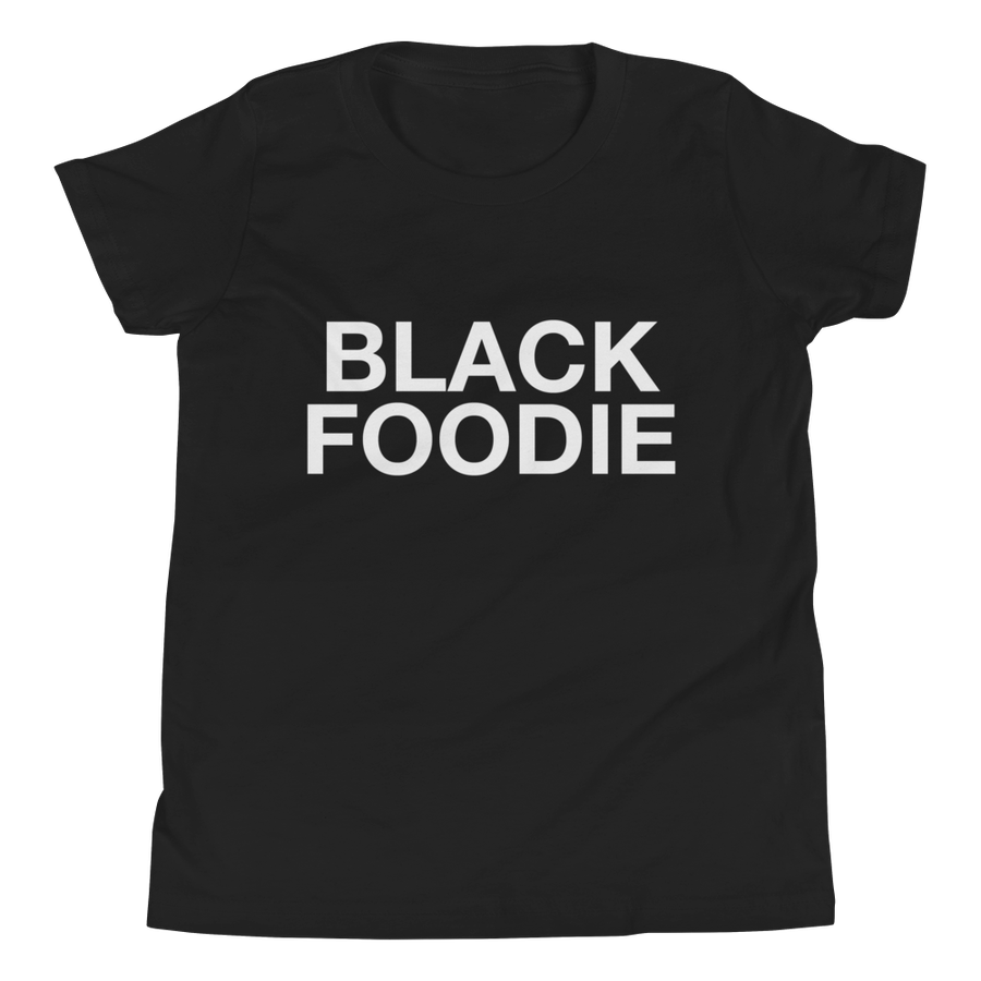 Image of Black Foodie Kids T-shirt