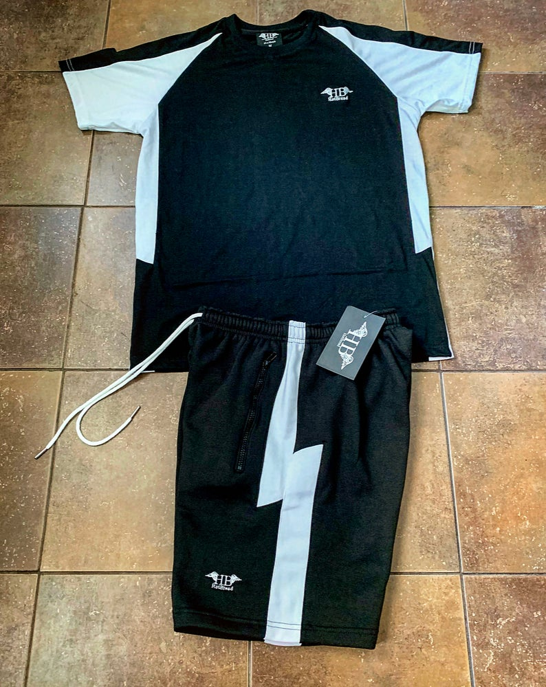 Image of HotBread Striker shorts set (black)