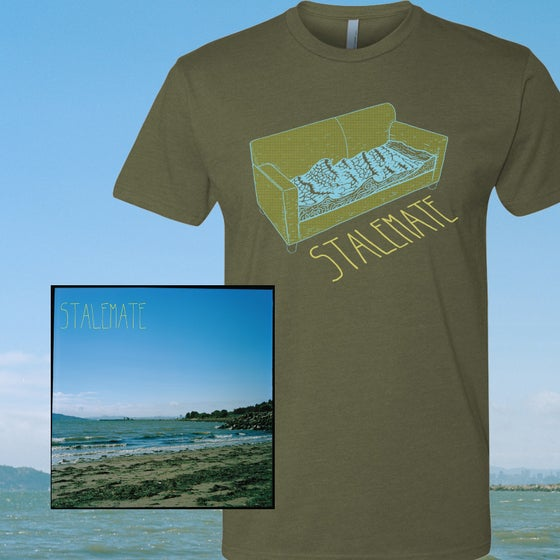 Image of Stalemate - The Heat Of The Sun LP + Green Shirt Bundle