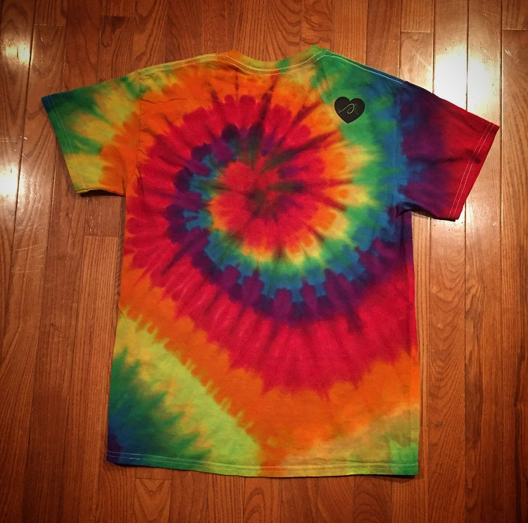 "Image of Tie Dye ""Love...period!"" Tee"