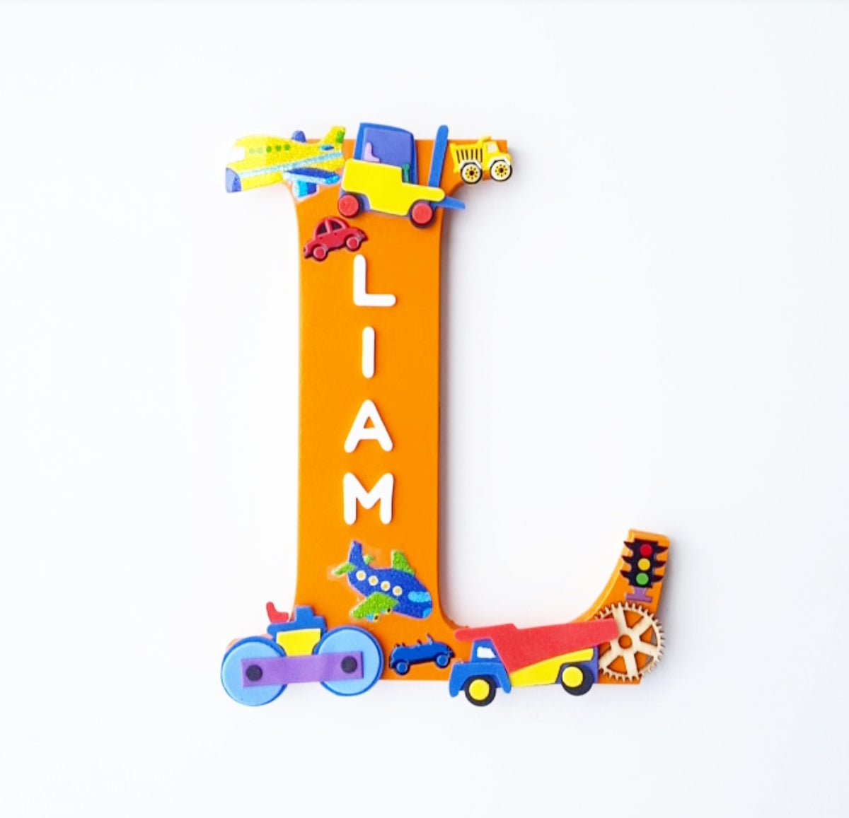 Image of Boys TRANSPORT Personalised Letters