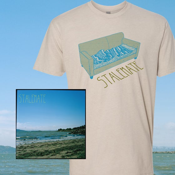 Image of Stalemate - The Heat Of The Sun LP + Sand Shirt Bundle