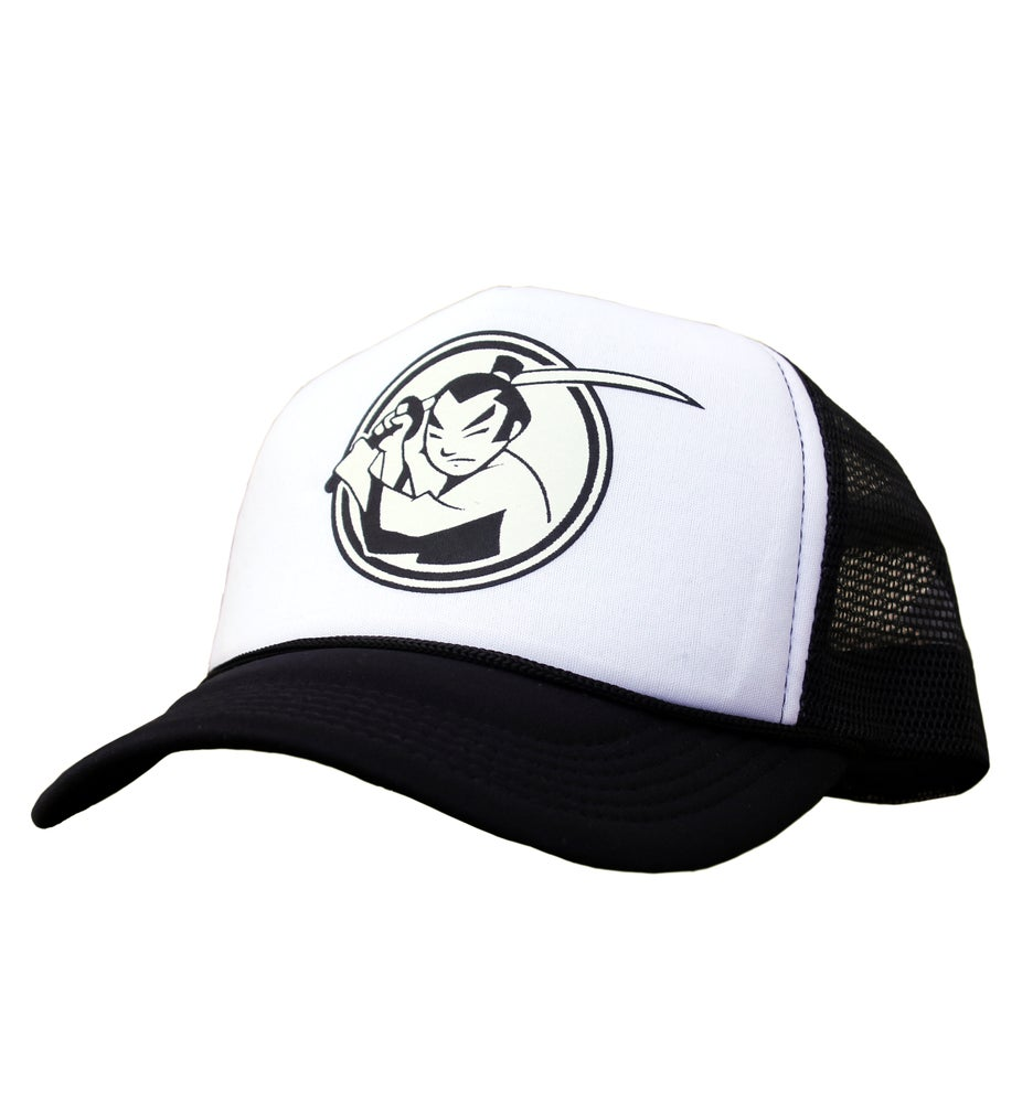 Image of FM Huntsville Samurai Logo Truck Hat (Black)