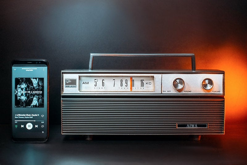 Image of AIWA AR-851 (1965) RADIO VINTAGE BLUETOOTH