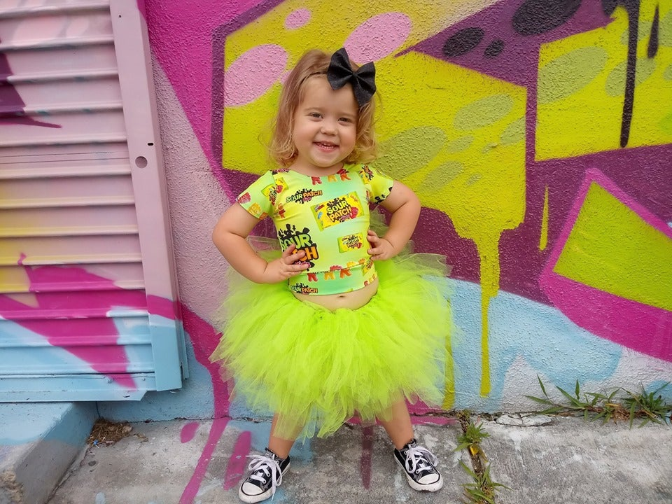 Image of Apple Green Tutu- Neon Collection