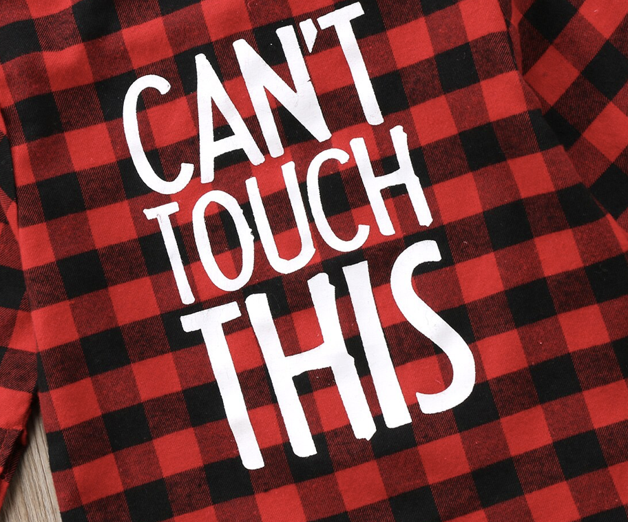 Can't Touch This Flannel